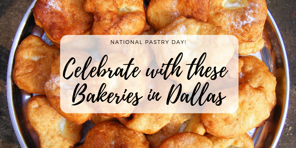 This Sunday, December 9th is National Pastry Day. Whether it's a blueberry scone, cherry danish or buttery croissant, there is a pastry for everyone. Enjoy these culinary masterpieces at our favorite bakeries in Dallas this weekend.